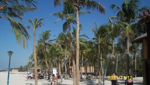 Дубай, плаж