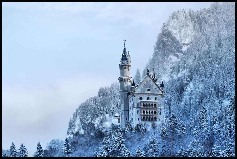 Neuschwanstein in Bavaria