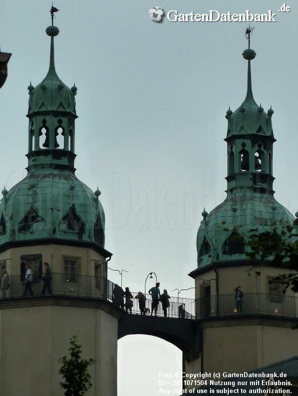 Osttürme der Marktkirche mit Aussichtsplattform