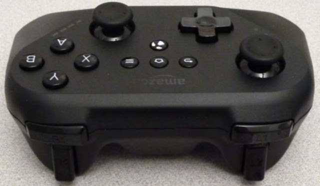 Amazon gamepad, back edge, shoulders, triggers
