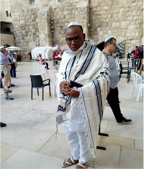 Image result for MAZI NNAMDI KANU in israel