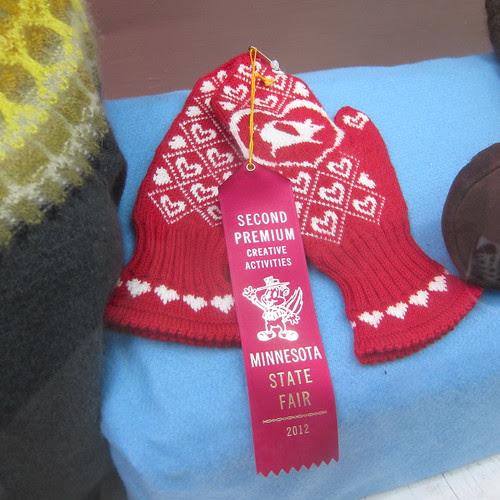 My first State Fair Ribbon