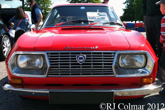Lancia Fulvia Sport 1.3, Simply Italian, Beaulieu,