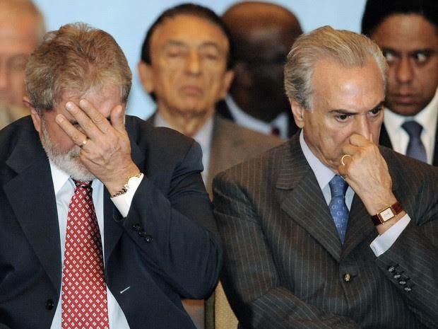 Resultado de imagem para Michel Temer e Lula
