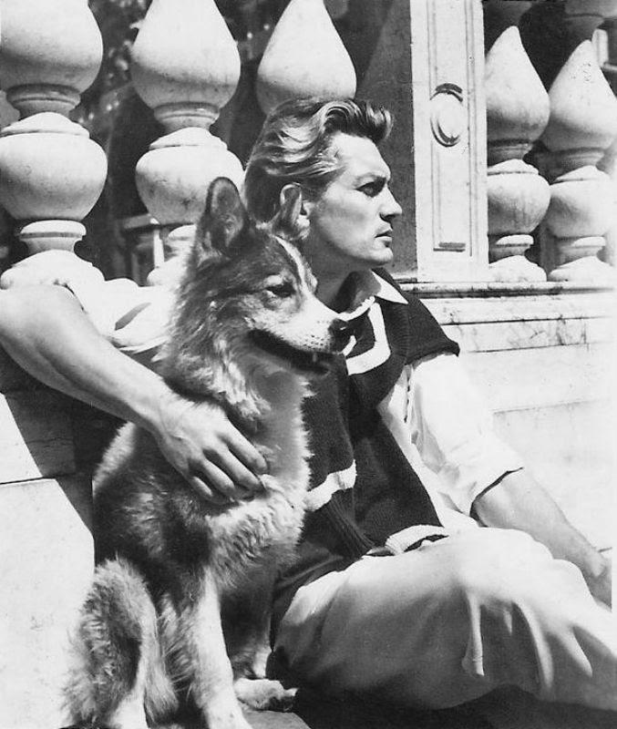 Его любили женщины, а он любил собак  дружба, собака, Жан Маре