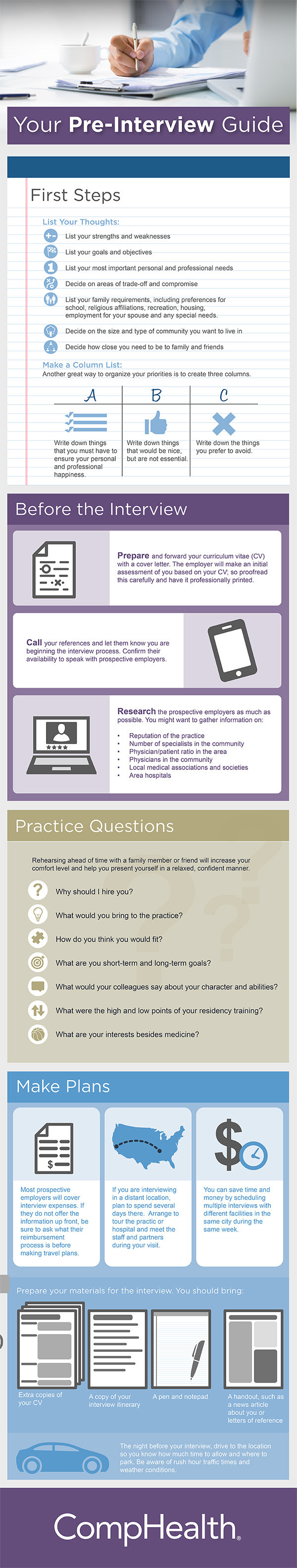 Infographic: Your Pre-Interview Guide #infographic
