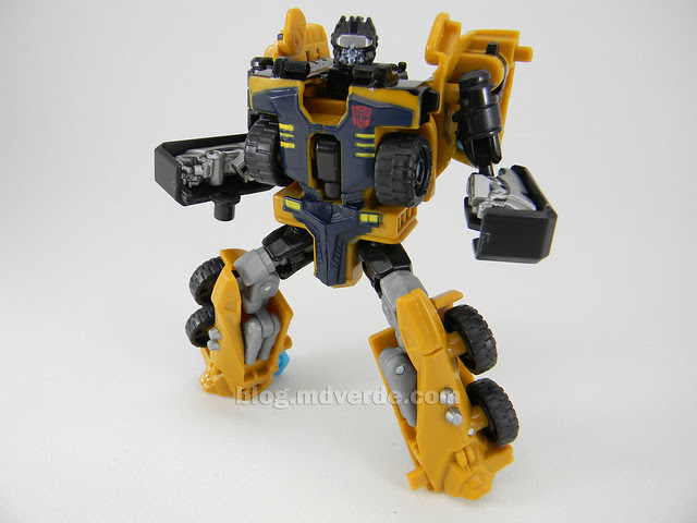 Transformers Huffer Power Core Combiners - modo robot