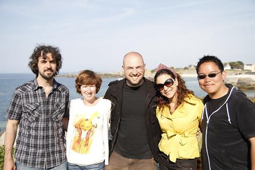Alvaro, Lorena, Alessandro, Aldrina and me