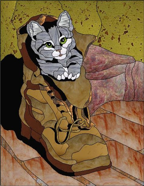 stained glass pets images  pinterest