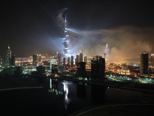 Burj Dubai by Night