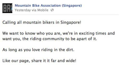 Mountain Bike Association (Singapore)