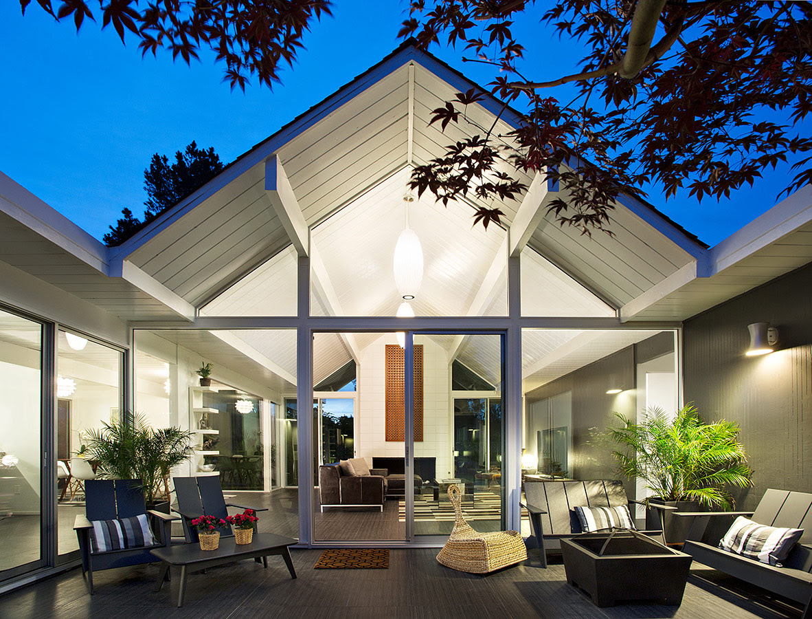 Pitched Roofinterior Design Ideas