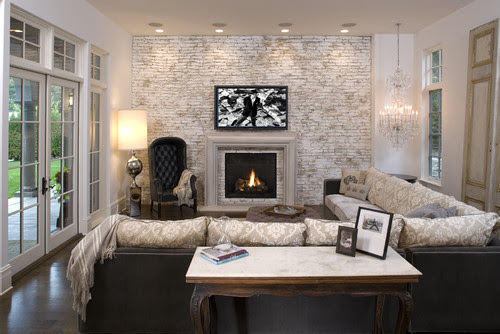 Hollywood Chic Living Room