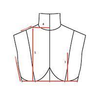 bust dart   Best Bridal Wedding Dress Alterations by