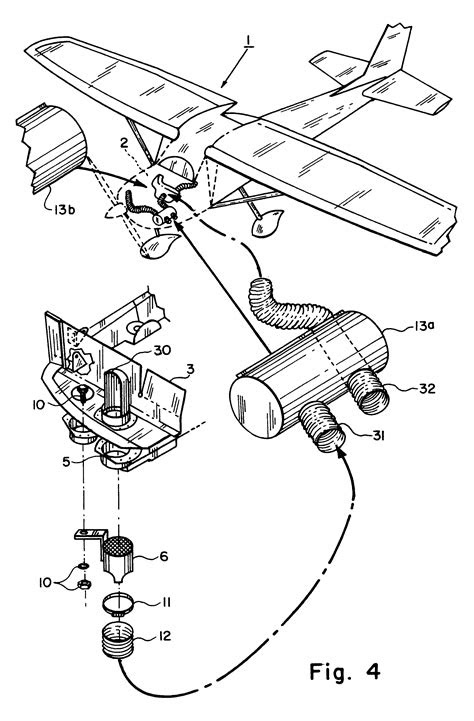 Patent US7017828 - Blower assisted heating and defogging