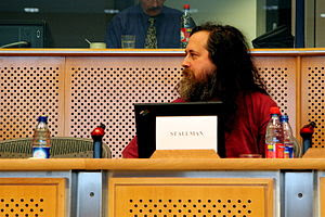 Richard Stallman was on form this morning with...
