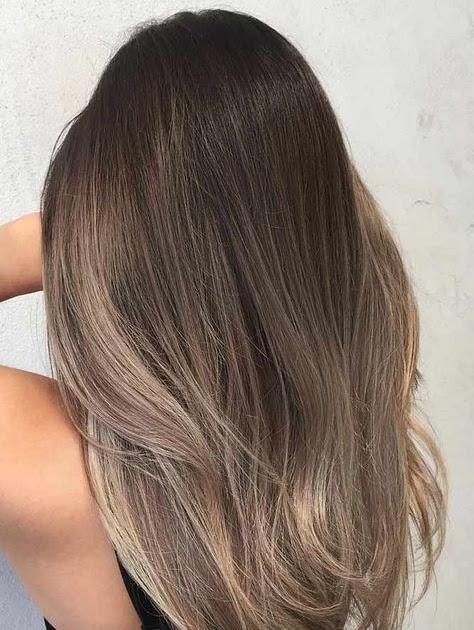 Model Warna Rambut Panjang Wanita 2020 - Model Terbaru