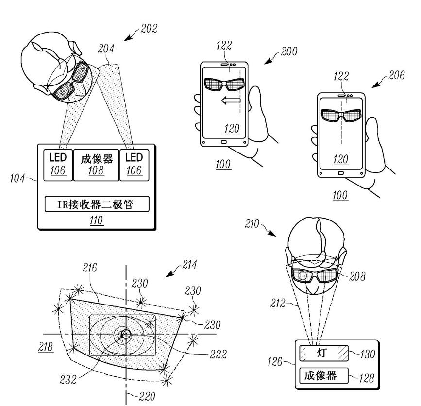 moto z iris scanner patent