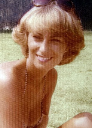 Carole Middleton in her younger years