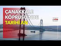 Çanakkale'den Kıtalar Arası İlk Geçiş: Karaismailoğlu Köprüyü Yürüyerek Geçecek - TGRT Haber TV