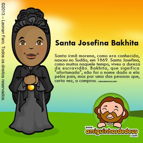 Dia de Santa Josefina Bakhita Imagem 2