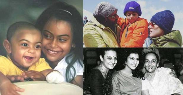 Pics that will define Kajol and her love for family, friends and films
