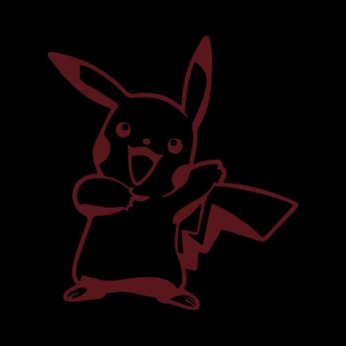 Mobel Wohnen 6 Pikachu Vinyl Decal Sticker Car Window Laptop Pokemon Game Maybrands Com Ng