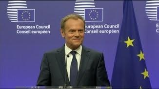 El president del Consell Europeu, Donald Tusk
