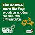 Flavio Dino decreta fim do IPVA para Biz, Pop e outras motos de até 100 cilindradas.