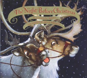 Bruce Whatley's The Night Before Christmas