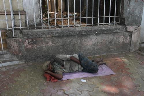 The Homeless Mumbaikar ... Has A Home In His Dreams by firoze shakir photographerno1