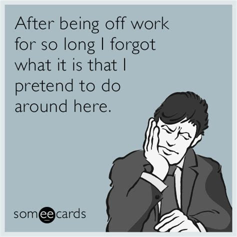 Back To Work After Holiday Funny Quotes