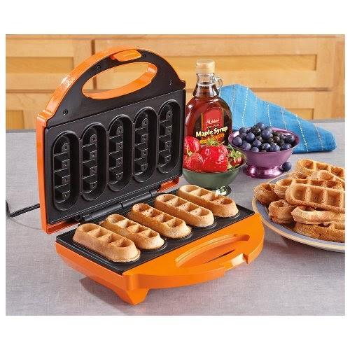 Mini Waffle Maker 5 Waffle Stick Maker