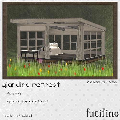 [f] fucifino.giardino retreat for Moody Monday week 7