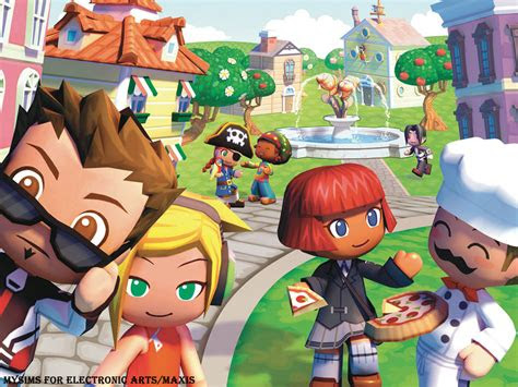 mysims wallpapers games wallpapers