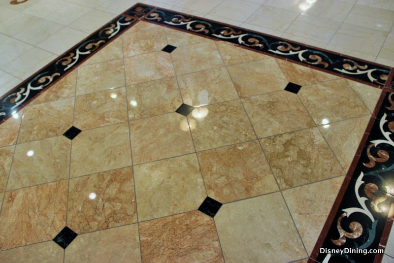 Marble Tile Floor Design Grand Floridian Resort Walt Disney World
