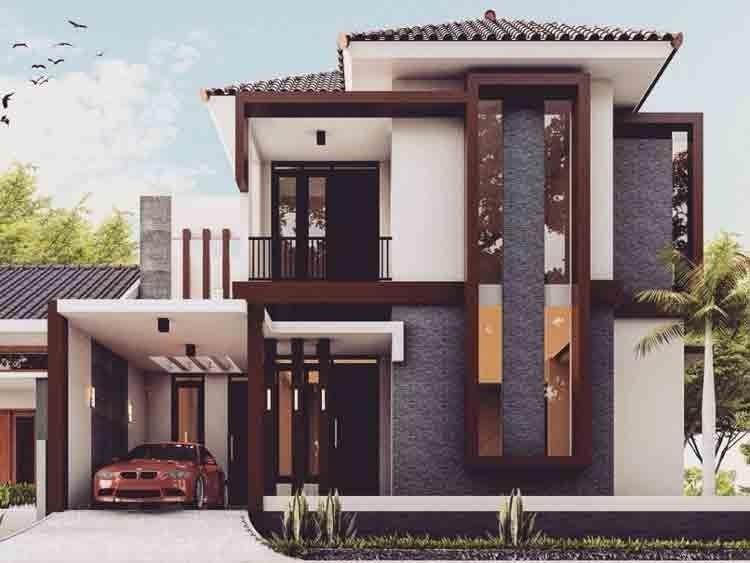 desain rumah dua lantai modern - contoh surat terlengkap 2020