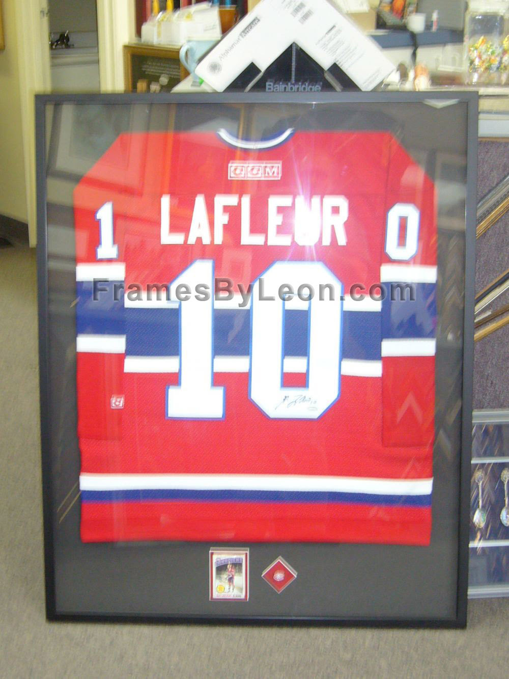Sports Jerseys And Shadow Box Framing In The Greater Toronto Area