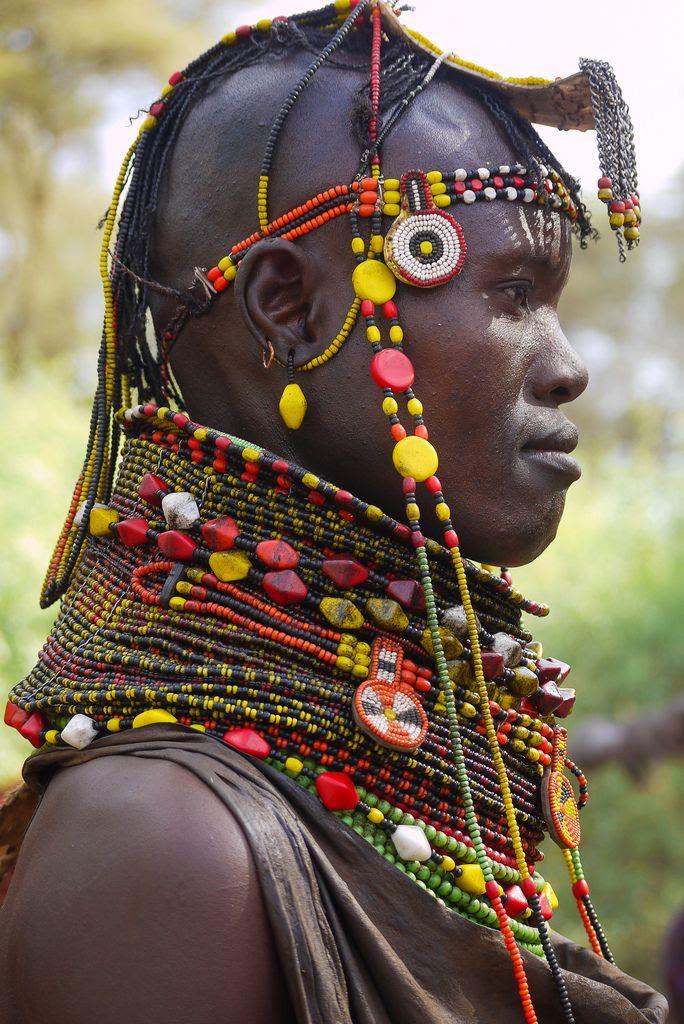 Africa | Turkana woman, Kenya | © Rita Willaert