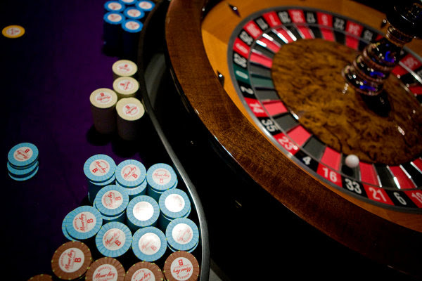 Roulette wheel and chips. Credit: 'Kelly Shimoda for The New York Times'