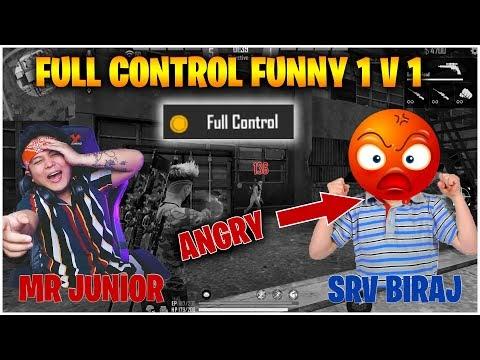 FULL CONTROL FUNNY 1 VS 1 WITH @SRV BIRAJ   GARENA - FREEFIRE   HAPPY NEW YEAR 2078