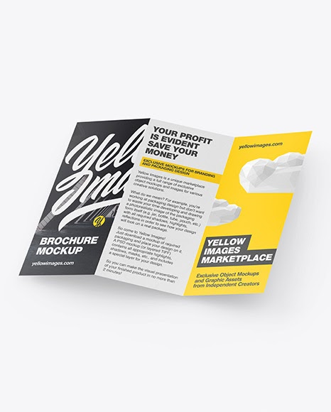 Download Free Landscape Brochure Mockup Psd Yellowimages