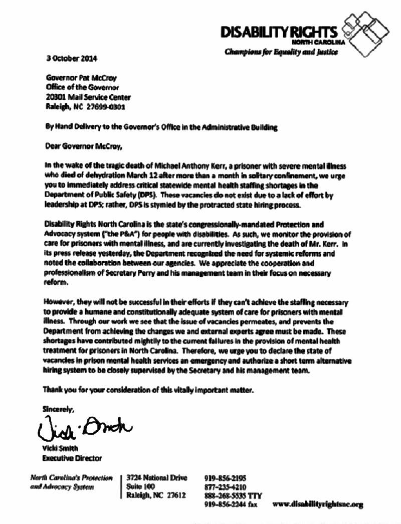 Under Fire for Negligence, North Carolina Prisons Chief ...