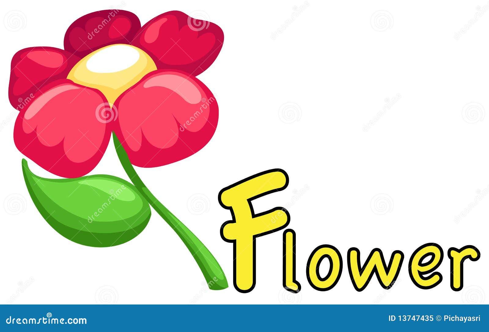 alphabet f flower 13747435