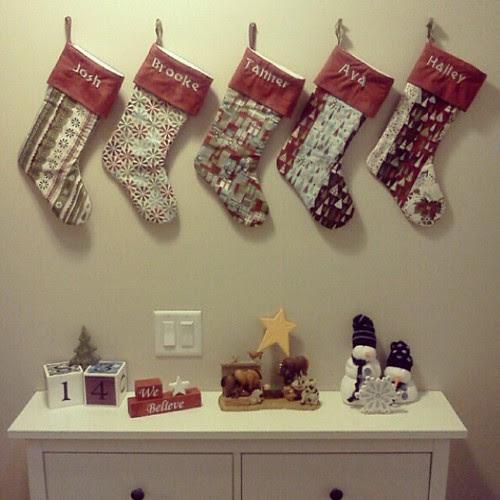 Christmas Stockings 2012