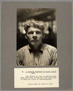 A Finnish stowaway at Ellis Is... Digital ID: 212118. New York Public Library