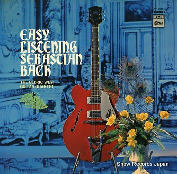 CEDRIC WEST GUITAR QUARTET, THE easy listening sebastian bach