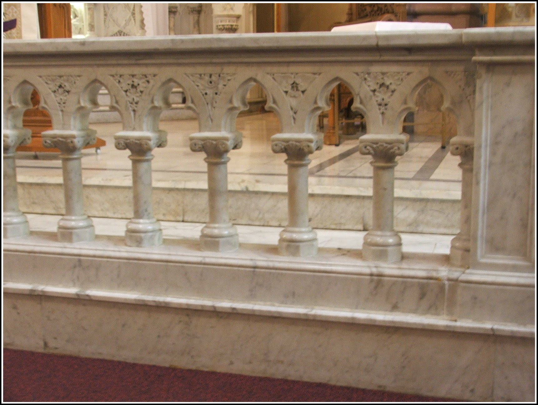 Image result for communion rail