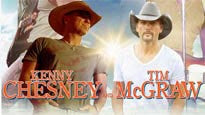 Kenny Chesney and Tim McGraw presale password for early tickets in Oakland