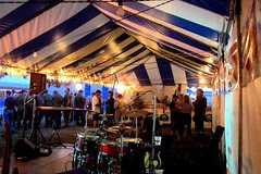 Beer Tent With Band